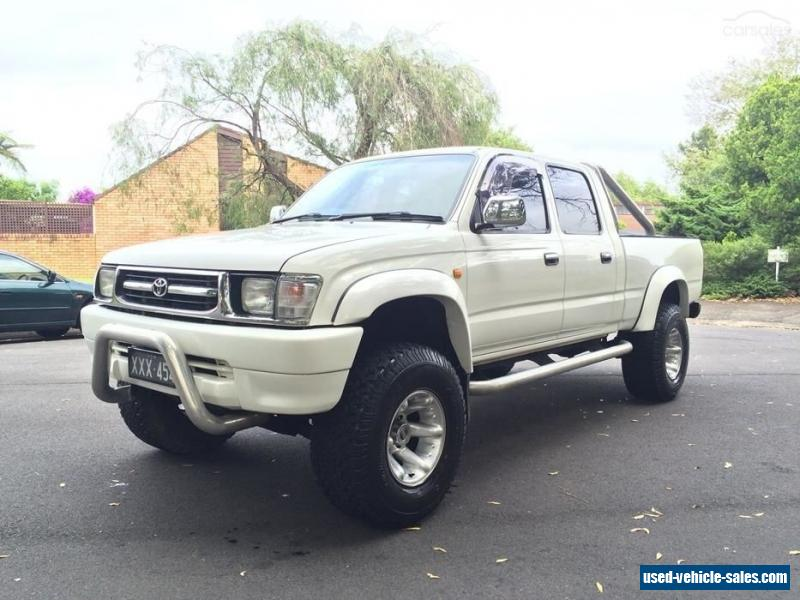 1999 Toyota Hilux Sr5 Manual 4x4 For Sale In Australia
