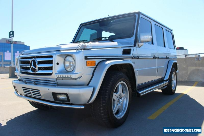 2003 mercedes benz g class for sale in canada for Mercedes benz g class g55 amg for sale