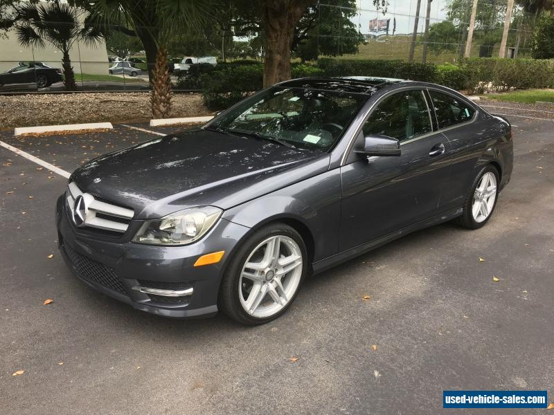 2013 mercedes benz c class for sale in the united states