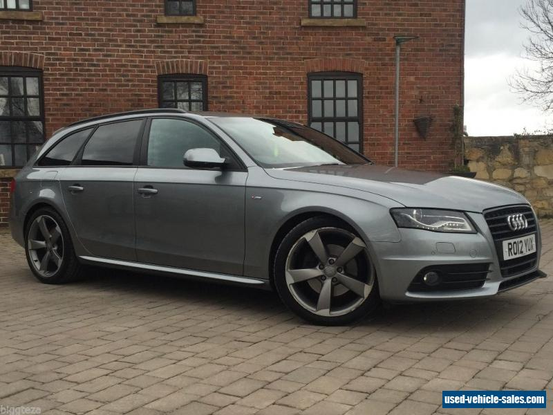 2012 audi a4 s line black edition t for sale in the united for For sale on line