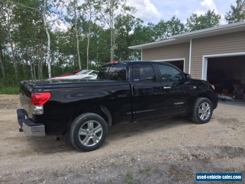 2007 toyota tundra for sale in canada. Black Bedroom Furniture Sets. Home Design Ideas