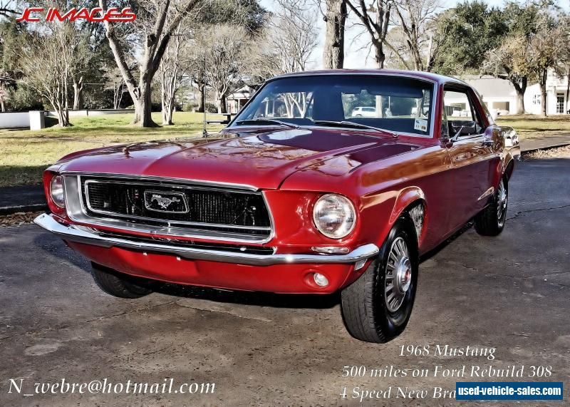 1968 ford mustang for sale in the united states. Cars Review. Best American Auto & Cars Review