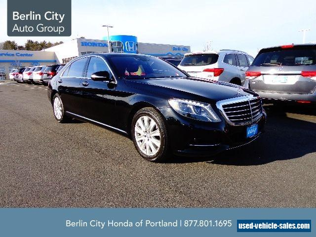 2014 mercedes benz s class for sale in the united states for Used mercedes benz a class for sale