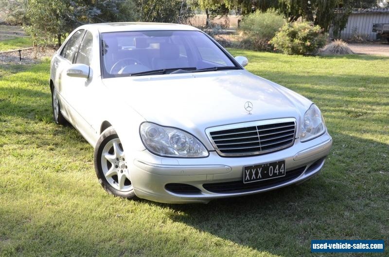 mercedes benz mercedes benz s430 2004 for sale in australia. Black Bedroom Furniture Sets. Home Design Ideas