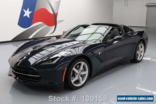 2014 chevrolet corvette stingray coupe 2 door for sale. Cars Review. Best American Auto & Cars Review