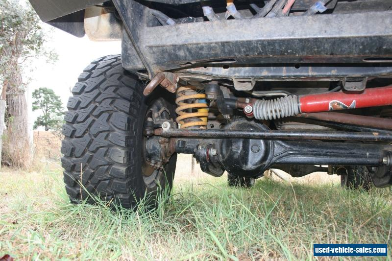 Holden Rodeo 4x4 solid axle front end (sas) turbo diesel space cab