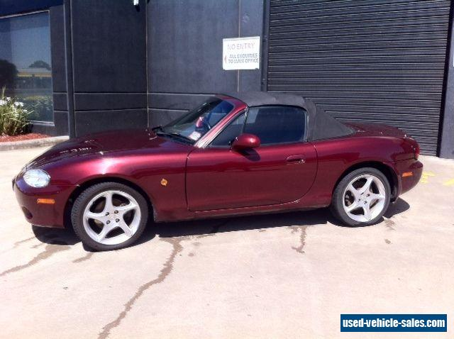 mazda mx 5 2003 nb 1 8l 6 speed manual convertible for sale. Black Bedroom Furniture Sets. Home Design Ideas