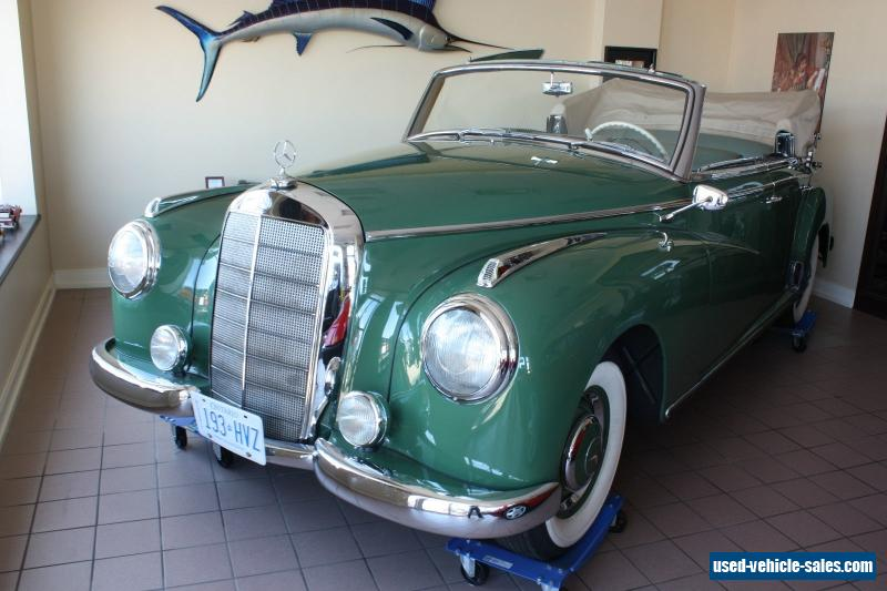 1952 mercedes benz 300 series for sale in canada for Mercedes benz limo for sale