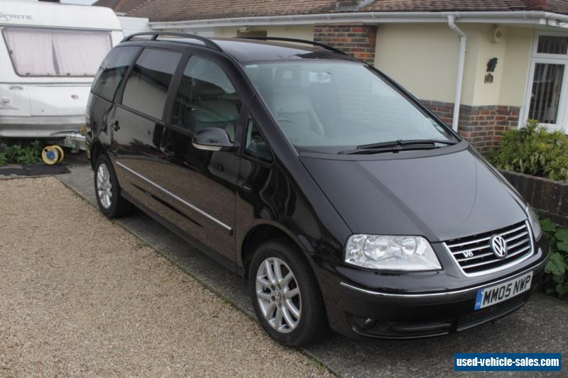 2005 volkswagen sharan carat v6 2 8l petrol auto for sale in the united kingdom. Black Bedroom Furniture Sets. Home Design Ideas