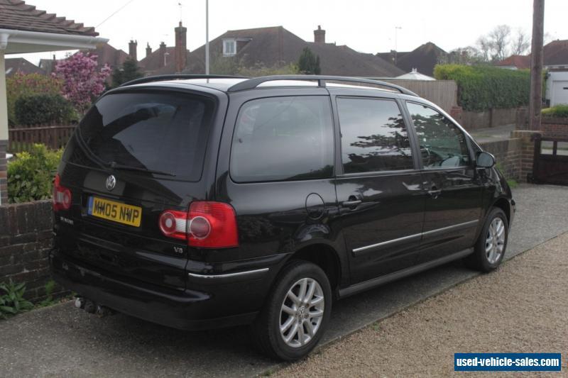 2005 volkswagen sharan carat v6 2 8l petrol auto for sale. Black Bedroom Furniture Sets. Home Design Ideas