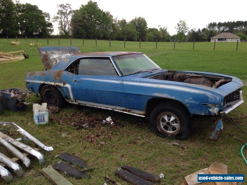 1969 Chevrolet Camaro For Sale In The United States