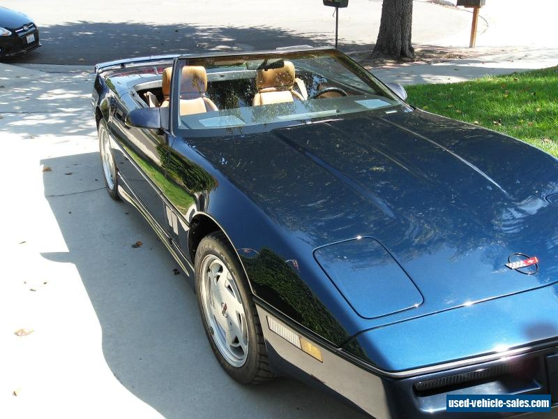 1989 chevrolet corvette for sale in the united states. Cars Review. Best American Auto & Cars Review