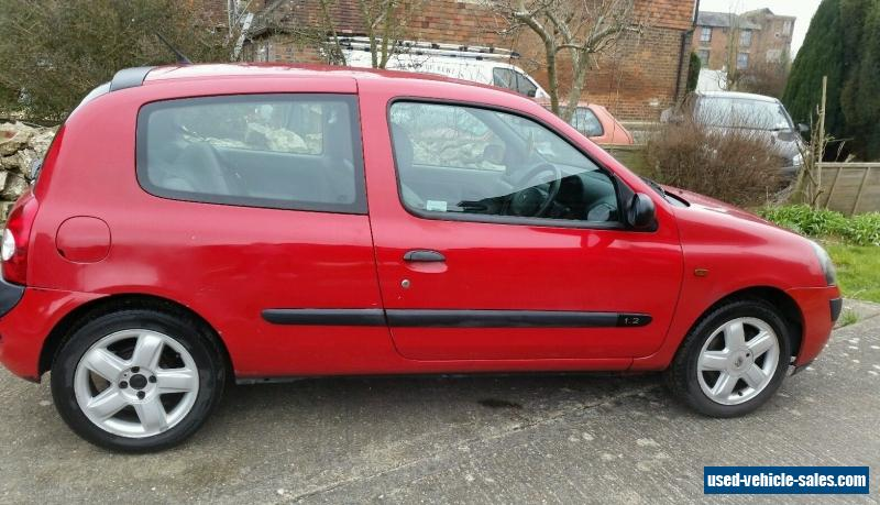 renault clio for sale in the united kingdom