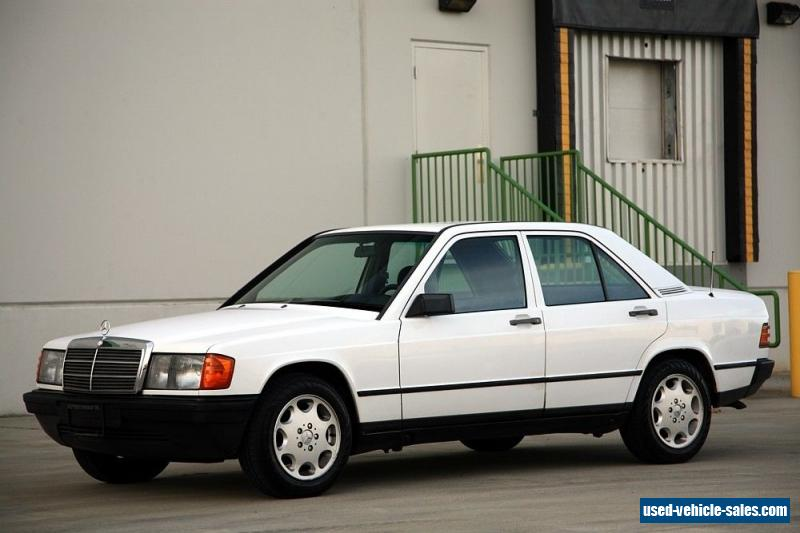 1985 mercedes benz 190 series for sale in canada