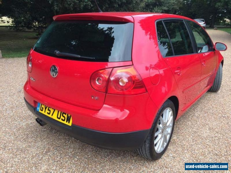 2007 volkswagen golf gt sport tsi 170 for sale in the united kingdom. Black Bedroom Furniture Sets. Home Design Ideas