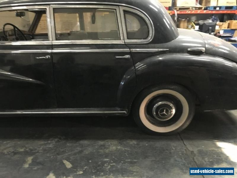 1953 mercedes benz 300 series for sale in the united states for 1953 mercedes benz 220 sedan for sale