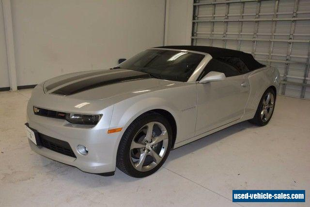 2014 chevrolet camaro lt convertible 2 door for sale. Cars Review. Best American Auto & Cars Review