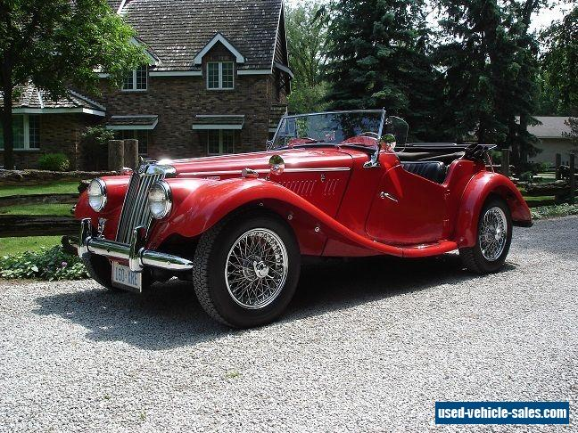 1954 mg t series for sale in canada. Black Bedroom Furniture Sets. Home Design Ideas