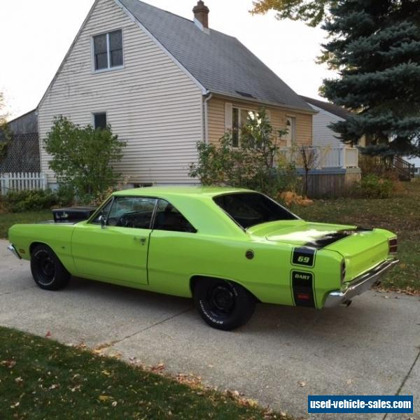 1969 Dodge Dart For Sale In Canada