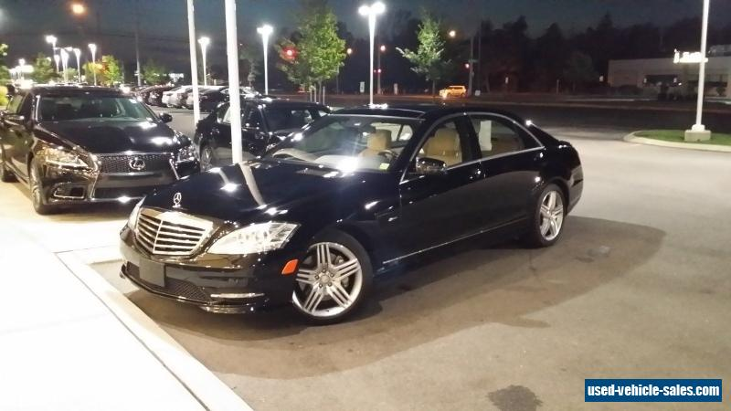2012 Mercedes Benz S Class For Sale In The United States