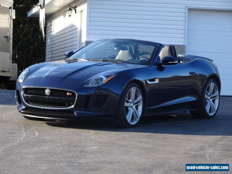 2014 jaguar f type for sale in canada. Black Bedroom Furniture Sets. Home Design Ideas