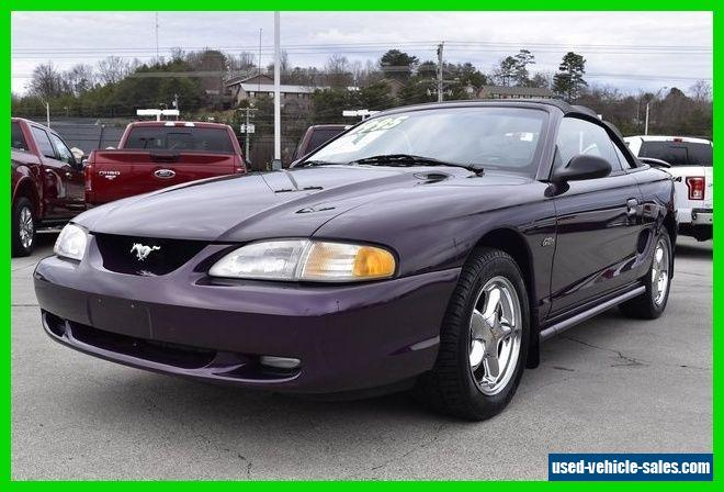 1996 ford mustang gt for sale. Cars Review. Best American Auto & Cars Review