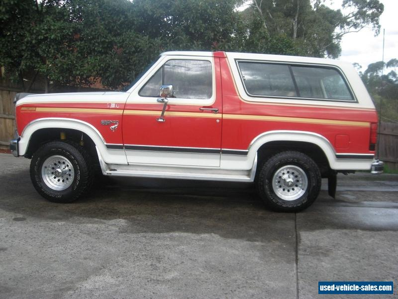 ford bronco for sale in australia. Black Bedroom Furniture Sets. Home Design Ideas