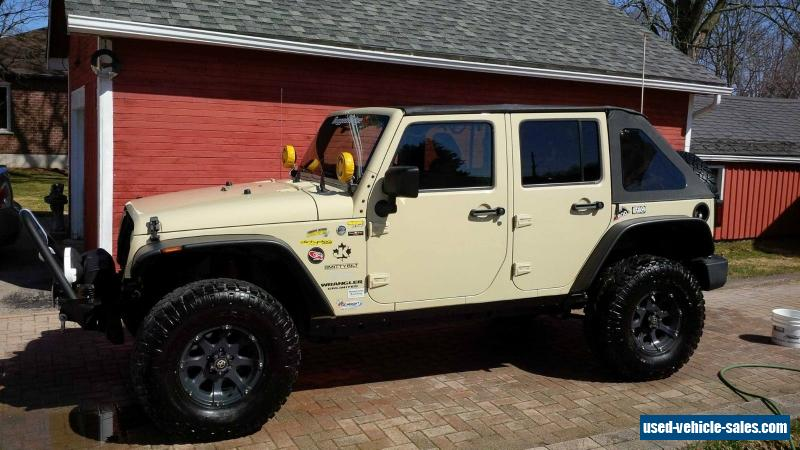 2011 Jeep Wrangler For Sale In Canada