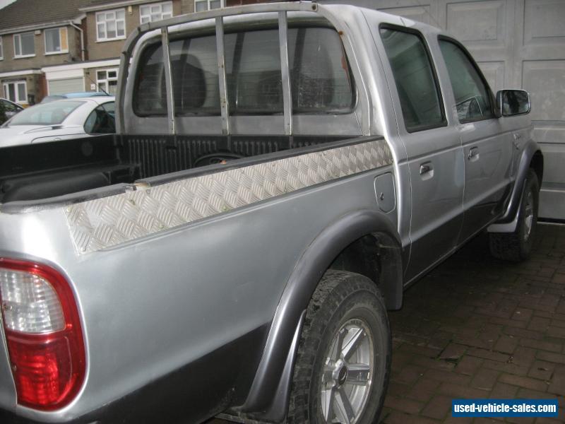 Ford Ranger Xlt X Td Door Silver