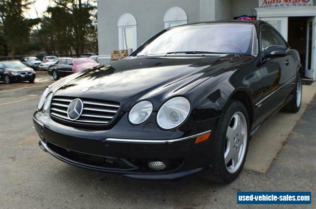 2002 mercedes benz cl class for sale in the united states for Mercedes benz cl600 for sale