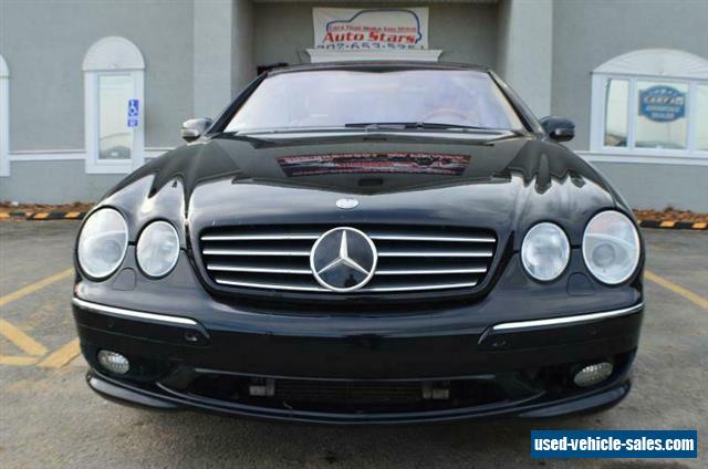2002 Mercedes Benz Cl Class For Sale In The United States