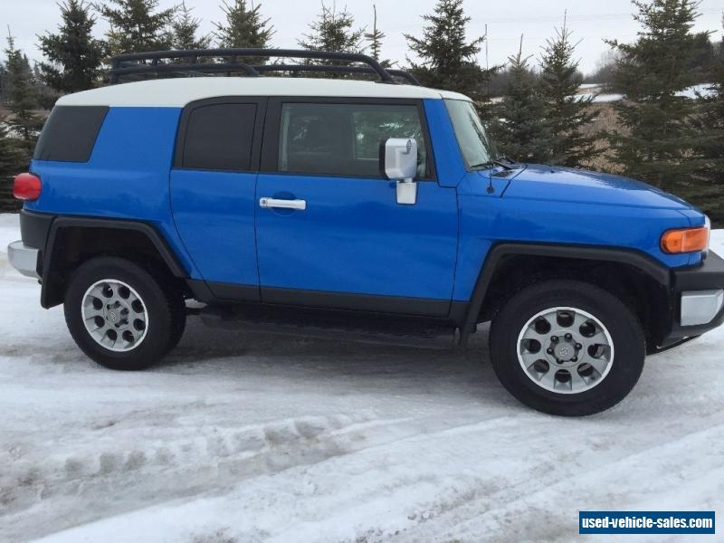 2007 toyota fj cruiser for sale in canada. Black Bedroom Furniture Sets. Home Design Ideas