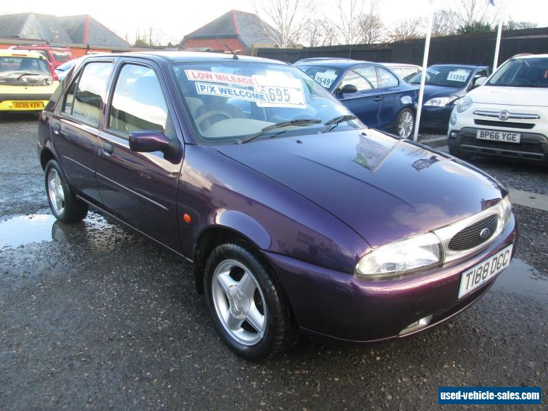 1999 ford fiesta ghia 16v for sale in the united kingdom. Black Bedroom Furniture Sets. Home Design Ideas