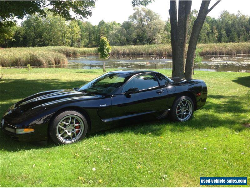 2003 chevrolet corvette for sale in canada. Black Bedroom Furniture Sets. Home Design Ideas