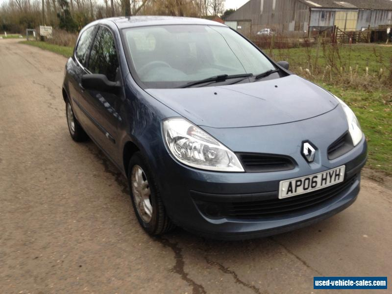 2006 renault clio for sale in the united kingdom. Black Bedroom Furniture Sets. Home Design Ideas