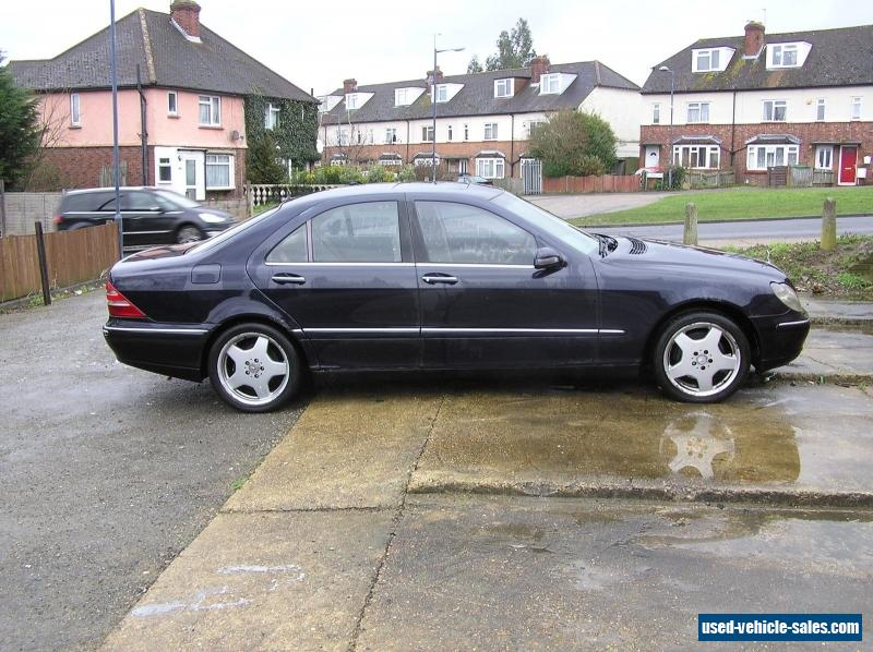 2001 mercedes benz s class w220 for sale in the united kingdom for 2001 mercedes benz s500 for sale