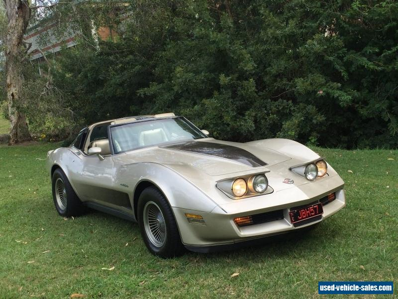 1982 chevrolet corvette collectors edition for sale in australia. Cars Review. Best American Auto & Cars Review