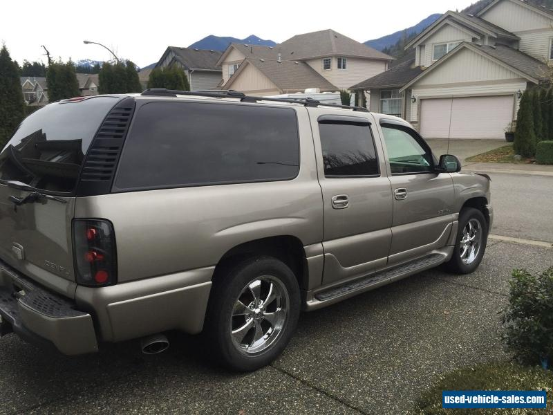 2002 gmc yukon for sale in canada. Black Bedroom Furniture Sets. Home Design Ideas