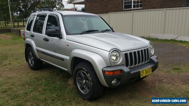 jeep cherokee 2004 kj sports with rego for sale in australia. Black Bedroom Furniture Sets. Home Design Ideas