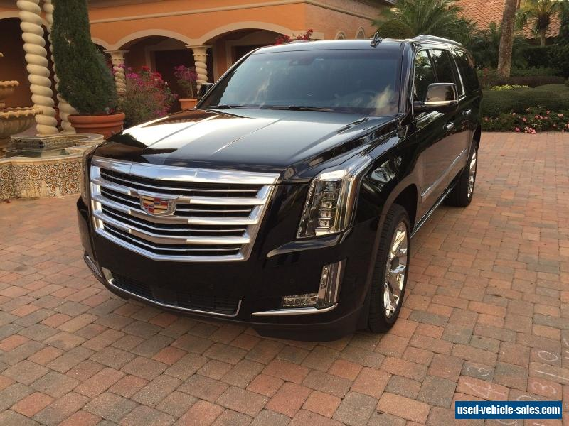 2017 cadillac escalade for sale in the united states. Black Bedroom Furniture Sets. Home Design Ideas