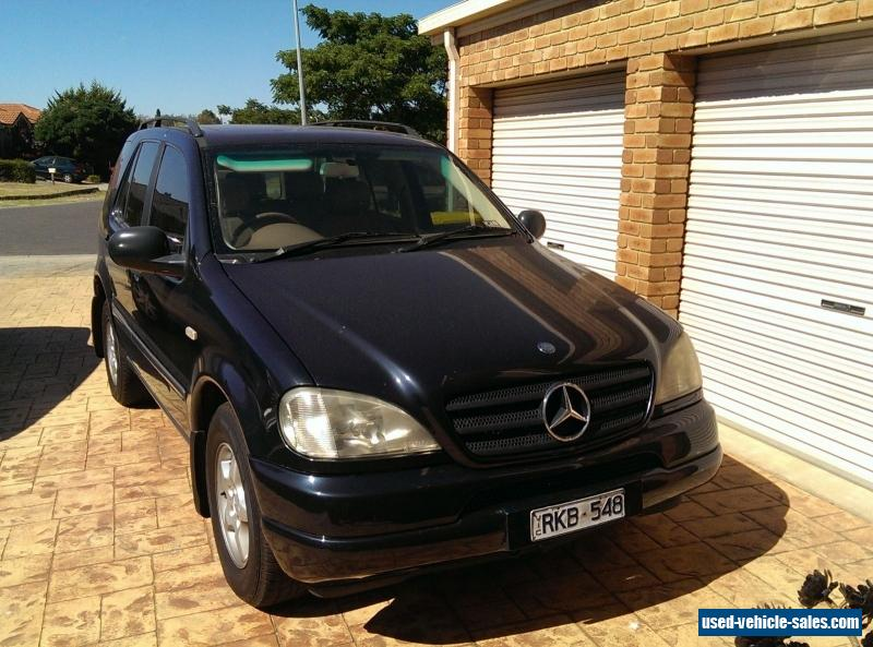 mercedes benz m class for sale in australia. Black Bedroom Furniture Sets. Home Design Ideas
