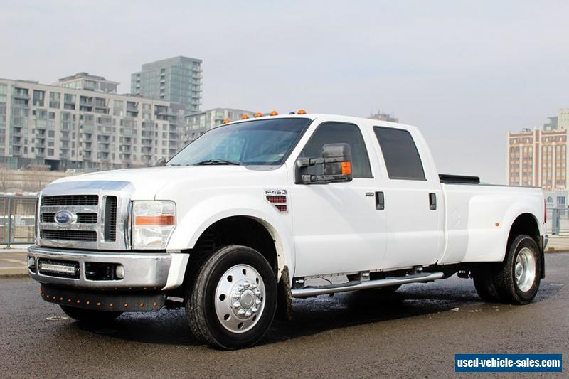 2008 ford f 450 for sale in canada. Black Bedroom Furniture Sets. Home Design Ideas