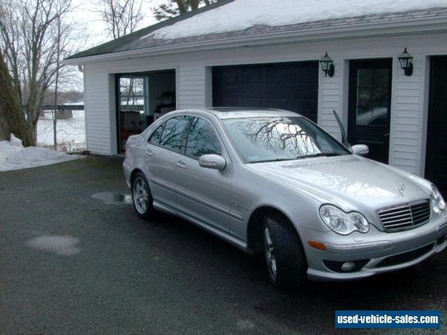 2004 mercedes benz c class for sale in canada. Black Bedroom Furniture Sets. Home Design Ideas