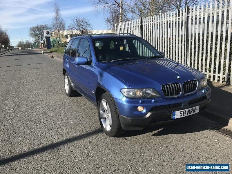 2005 bmw x5 sport auto for sale in the united kingdom. Black Bedroom Furniture Sets. Home Design Ideas