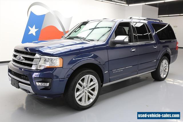 2015 ford expedition for sale in the united states. Black Bedroom Furniture Sets. Home Design Ideas