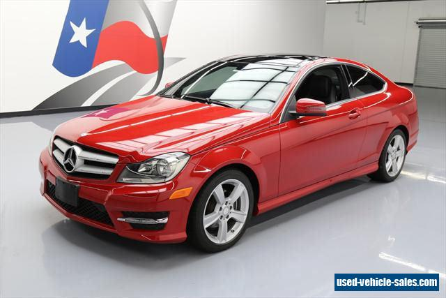 2013 mercedes benz c class for sale in the united states for Mercedes benz 2 door coupe for sale
