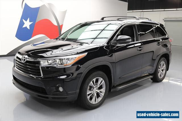 2015 toyota highlander for sale in the united states. Black Bedroom Furniture Sets. Home Design Ideas