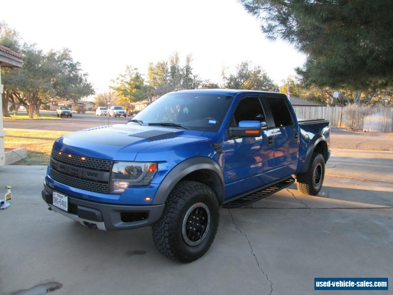 2014 ford f 150 svt raptor crew cab pickup 4 door for sale. Cars Review. Best American Auto & Cars Review