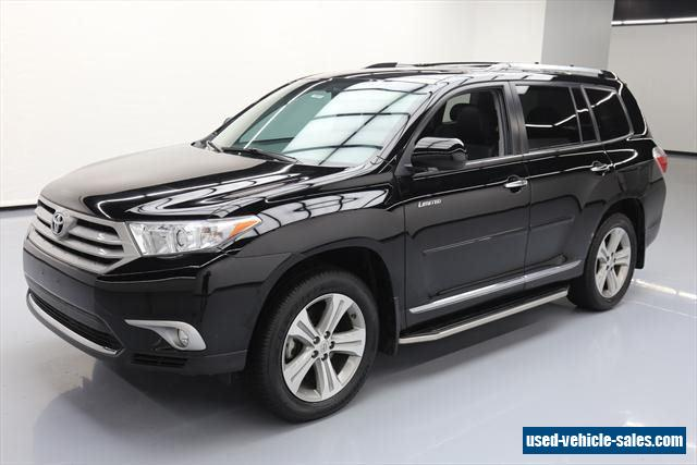 2013 toyota highlander for sale in the united states. Black Bedroom Furniture Sets. Home Design Ideas
