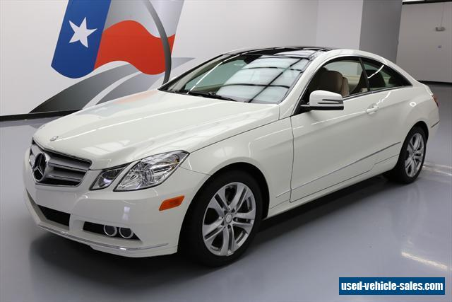 2010 mercedes benz e class for sale in the united states